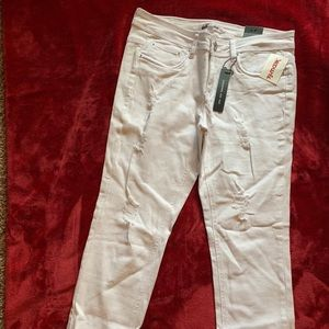 White Jrs size 11 Jeans by DOLLHOUSE new with tags